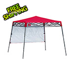 Quik Shade Red 6 x 6 ft. Slant Leg Canopy