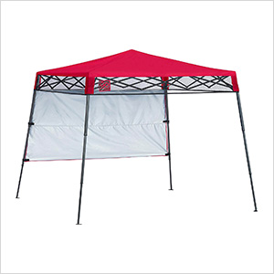 Red 6 x 6 ft. Slant Leg Canopy