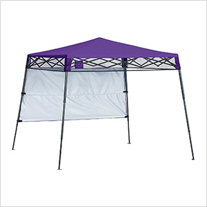 Purple 6 x 6 ft. Slant Leg Canopy