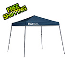 Quik Shade Midnight Blue 9 x 9 ft. Slant Leg Canopy