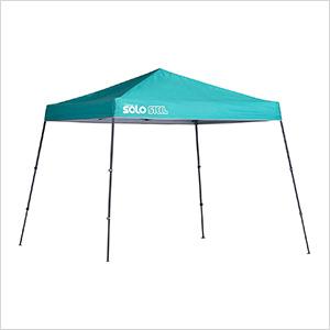 Turquoise 10 x 10 ft. Slant Leg Canopy