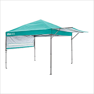 Turquoise 10 x 17 ft. Straight Leg Canopy