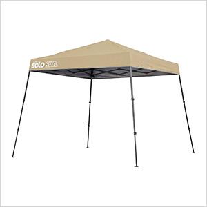Khaki 10 x 10 ft. Slant Leg Canopy