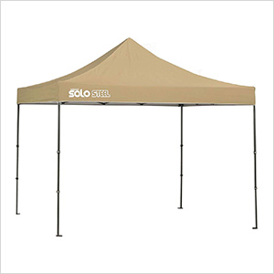 Khaki 10 x 10 ft. Straight Leg Canopy