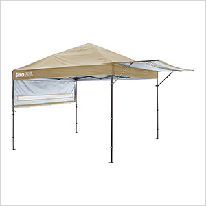 Khaki 10 x 17 ft. Straight Leg Canopy