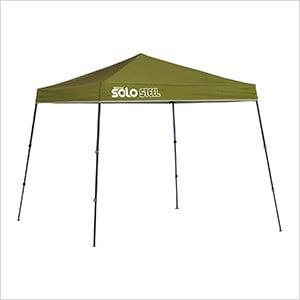 Olive 9 x 9 ft. Slant Leg Canopy