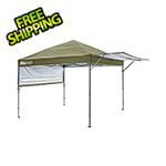 Quik Shade Olive 10 x 17 ft. Straight Leg Canopy