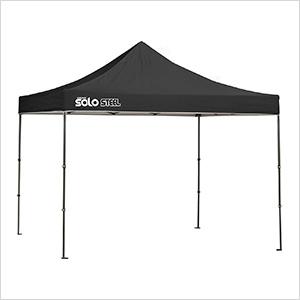 Black 10 x 10 ft. Straight Leg Canopy