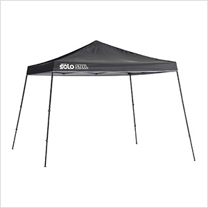 Black 11 x 11 ft. Slant Leg Canopy