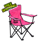 Quik Shade Pink Kids Folding Chair