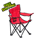 Quik Shade Red Kids Folding Chair