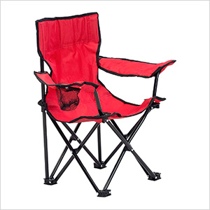 Red Kids Folding Chair
