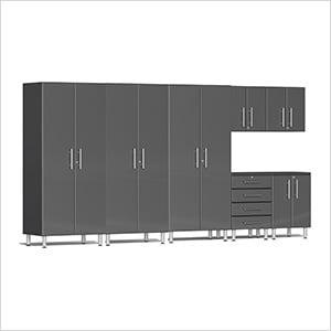 7-Piece Cabinet Kit in Graphite Grey Metallic