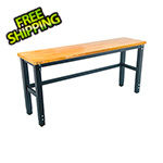 Trinity 72 x 19 in. Wood Top Table