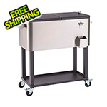 Trinity Beverage Cooler with Shelf
