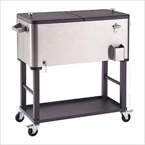 Detachable Beverage Cooler with Shelf