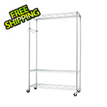 Trinity Chrome Mobile Garment Rack