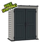 "DuraMax Yardmate  5"" x 3' Vinyl Pent Shed with Floor"