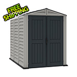 DuraMax YardMate 5' x 8' Plus Shed With Floor