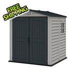 DuraMax StoreMate 6' x 6' Plus Vinyl Shed With Floor