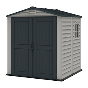 StoreMate 6' x 6' Plus Vinyl Shed With Floor