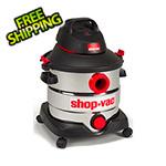 Shop-Vac 8 Gal. 6.0 Peak HP Stainless Steel Wet/Dry Vacuum