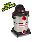 Shop-Vac 12 Gal. 5.5 Peak HP Stainless Steel Wet/Dry Vacuum