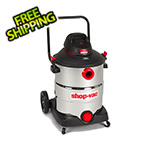 Shop-Vac 16 Gal. 6.5 Peak HP SVX2 Stainless Steel Wet/Dry Vacuum