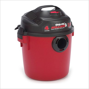 4 Gal. 2.0 Peak HP BullDog Quiet Wet/Dry Vac