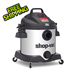 Shop-Vac 8 Gal. 5.5 Peak HP SVX2 Powered Stainless Steel Contractor Wet/Dry Vac