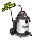 Shop-Vac 10 Gal. 6.5 Peak HP SVX2 Powered Stainless Steel Contractor Wet/Dry Vac