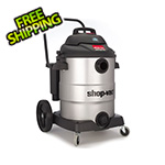 Shop-Vac 16 Gal. 6.5 Peak HP SVX2 Powered Stainless Steel Contractor Wet/Dry Vac