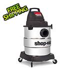 Shop-Vac 6 Gal. 4.5 Peak HP Industrial Stainless Steel Wet/Dry Vac
