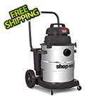 Shop-Vac 10 Gal. 6.0 Peak HP Industrial Single-Stage Stainless Steel Wet/Dry Vac