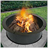 28 in. Round Fire Ring