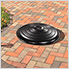 31 in. Round Fire Ring Lid