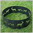 36 in. Round Elk Decorative Fire Ring