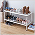 MeshWorks 2-Tier Short Stacking Shelf (White)
