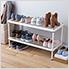 MeshWorks 2-Tier Short Stacking Shelf (Blush Pink)