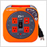 25 ft. Extension Cord Reel with 4 Grounded Outlets and 2 USB Ports