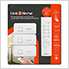 Indoor Wireless Remote Control 3 Grounded Receivers with Timer
