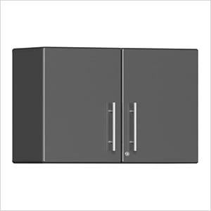 2-Door Oversized Wall Garage Cabinet in Graphite Grey Metallic
