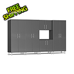 Ulti-MATE Garage Cabinets 5-Piece Cabinet Kit in Graphite Grey Metallic