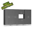Ulti-MATE Garage 2.0 Series 5-Piece Cabinet Kit in Graphite Grey Metallic
