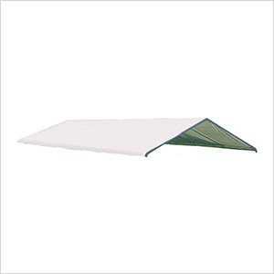 "12×26 White Canopy Replacement Cover, Fits 2"" Frame"