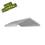 "ShelterLogic 10×20 White Canopy Replacement Cover, Fits 1-3/8"" Frame"