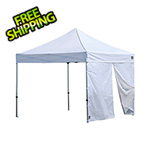 ShelterLogic Alumi-Max Pop-up Canopy Solid One Piece Wall Panel with Center Zipper
