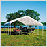 """18×30 Canopy Replacement Cover for 2"""" Frame"""