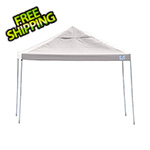 ShelterLogic 12x12 Straight Pop-up Canopy with Black Roller Bag (White Cover)