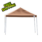 ShelterLogic 12x12 Straight Pop-up Canopy with Black Roller Bag (Desert Bronze Cover)